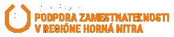 Národný projekt - Podpora zamestnateľnosti v regióne horná Nitra