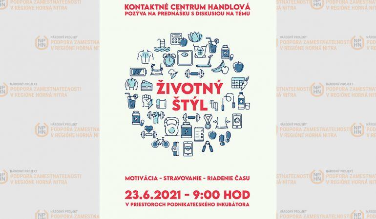 Pozvánka na prednášku - kontaktné centrum Handlová
