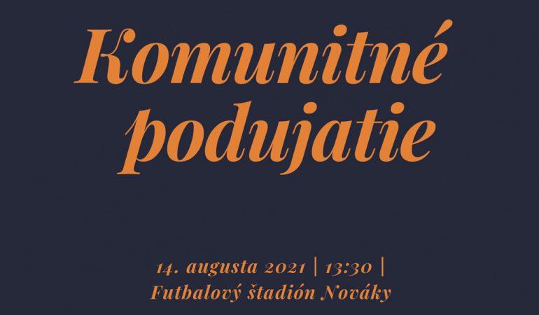 Pozvánka na komunitné podujatie - ilustračné foto